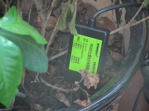 rs485工业型土壤水分温度传感器
