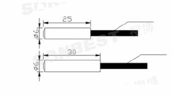 搜博 slst3 17 经济型pt100温度传感器图片