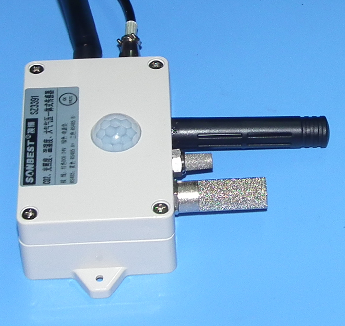 zigbee,无线 高灵敏度,微型,红外co2传感器,co2传感器模块,最轻的ndir