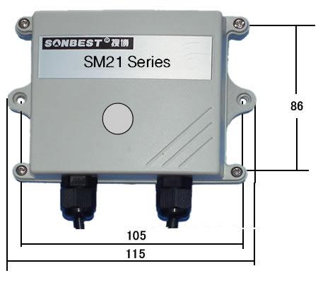 [sm2161b ]rs485宽量程光照度传感器
