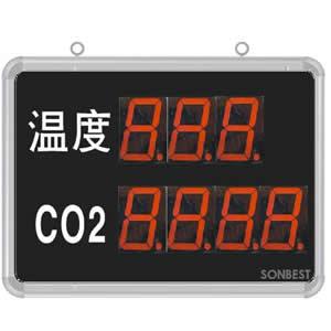 [SD8204B]大屏LED显示温度、CO2显示仪