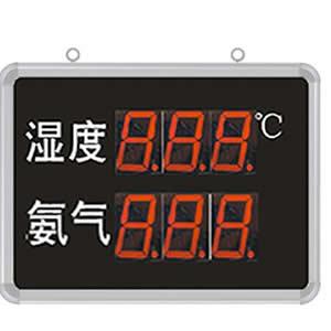 [SD8211B]大屏LED显示湿度、氨气显示仪