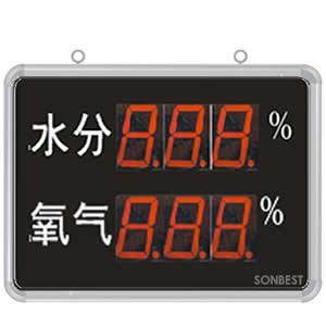 [SD8214B]大屏LED显示水分、O2显示仪
