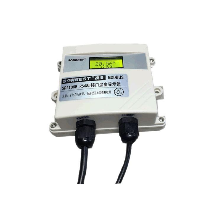[SD2100B]液晶显示型DS18B20温度传感器