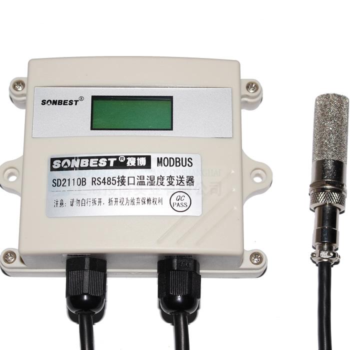 [SD2110B] RS485温湿度数据显示仪