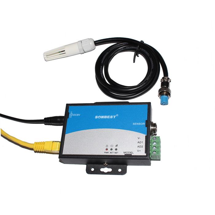 [SM5010T]以太网温湿度变送器 TCP/IP 跨地域 医药仓