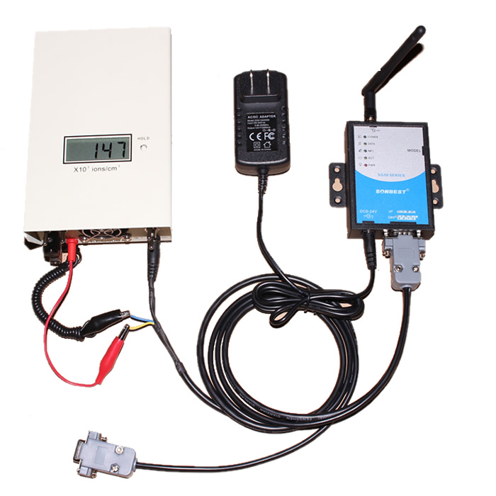 [SG5030V-KEC]KEC900+林业专业负离子测量仪GRPS套件
