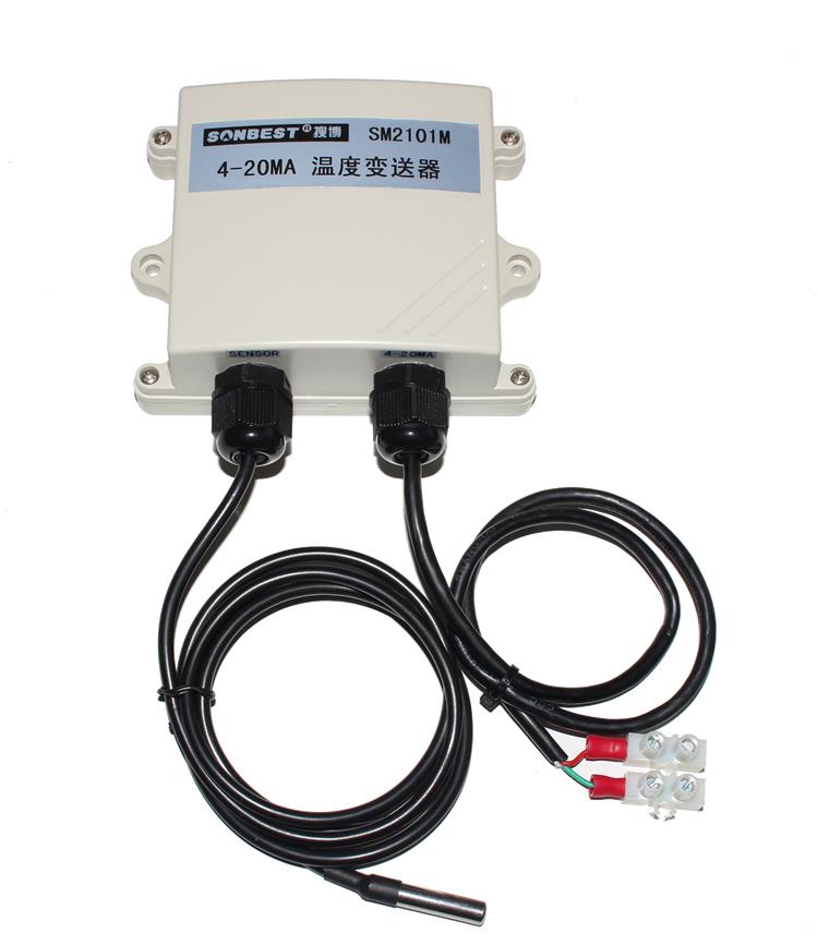 [SM2101M]PT1004-20mA温度变送器