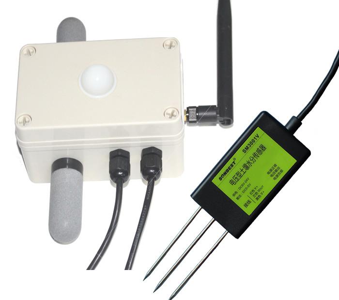 [SZ3992]ZIGBEE无线大棚专用五合一传感器
