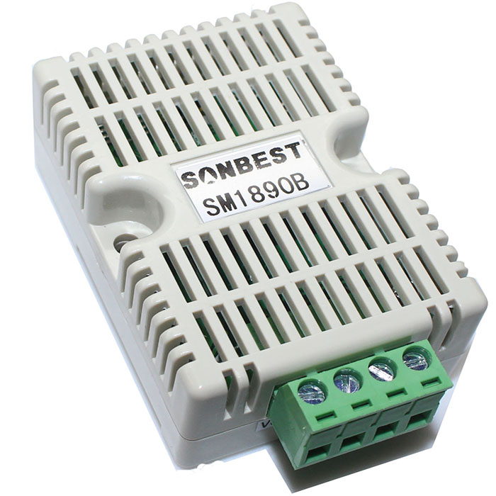 [SM1890B]导轨式RS485大气气压及温湿度一体式传感器