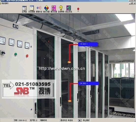 [SENS3102]变电站无线温湿度监测软件