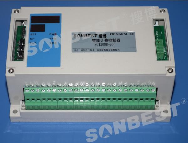 20路温度节能控制器(空调节能控制器)(20路、温度控制器、智能计费控制器、温度采集模块、单总线、MODUBS协议、空调节能控制器、独立恒温控制器、恒温控制器|SC1200B-20)