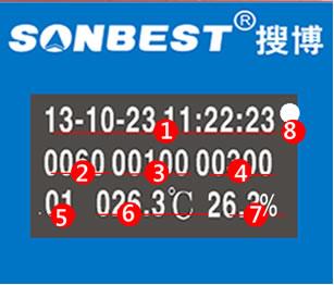 RS485多通道温湿度记录仪 无纸记录仪支持SHT10、SHT11、SHT15(多通道、RS485、温湿度记录仪、一体化、MODBUS-RTU、变送器、SHT10、长距离、无纸记录仪|SR1210BD-8)