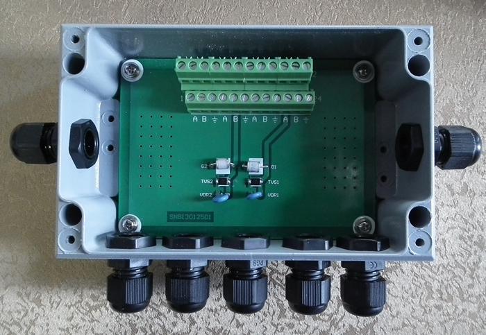 防爆型T型总线连接器(防爆型总线连接器,防爆型CAN总线,防爆型RS485总线连接器,CM02|CM07)