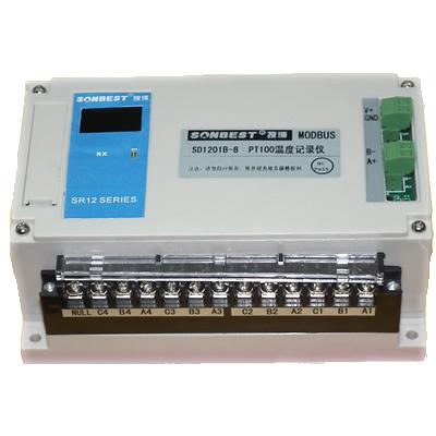 [SR1201B-8]八通道PT100温度记录仪