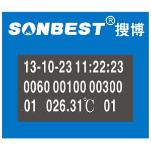 八通道PT100温度记录仪(SR1201B、手持式、多通道、温度、记录仪、RS485、MODBUS-RTU、PLC|SR1201B)