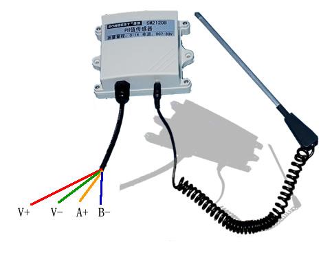 土壤酸碱度(ph值)传感器接线图
