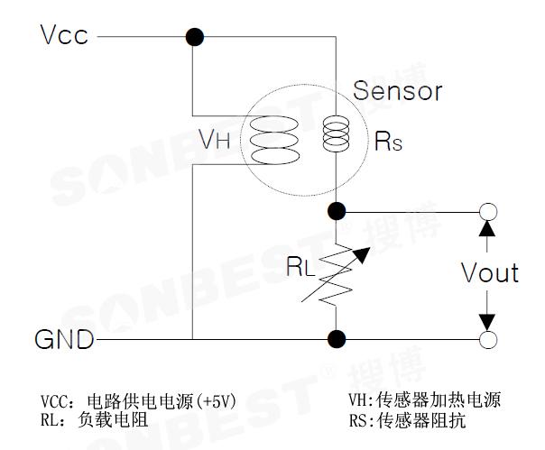 烟雾检测电路设计图