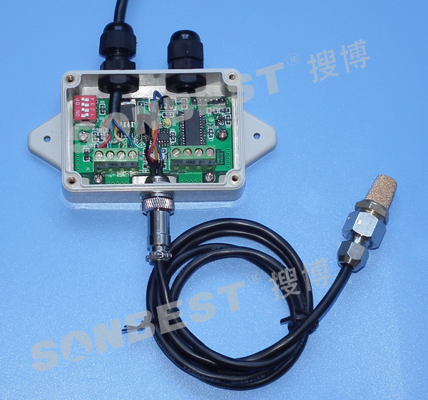 [sm1910c]can总线防护型温湿度模块