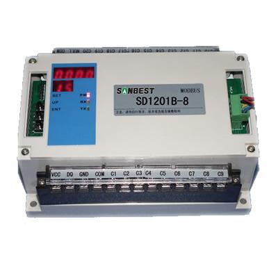 [SD1201B-8]8路RS485接口PT100温度集中采集仪(巡检仪
