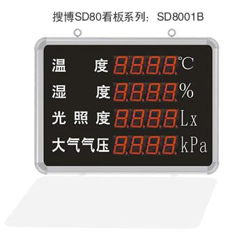 <b>【SD8401】RS485大气气压、温湿度、光照度一体式