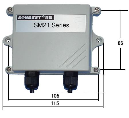 [sm2103v] 电压型pt1000温度变送器 输出0-10v