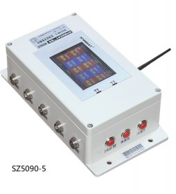[SZ2510-5]ZIGBEE无线多通道SHT10温湿度记录仪(锂电池供电,TFT彩屏显示)