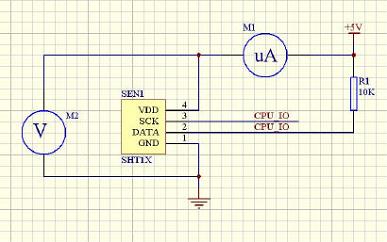 单片机传感器接线原理图