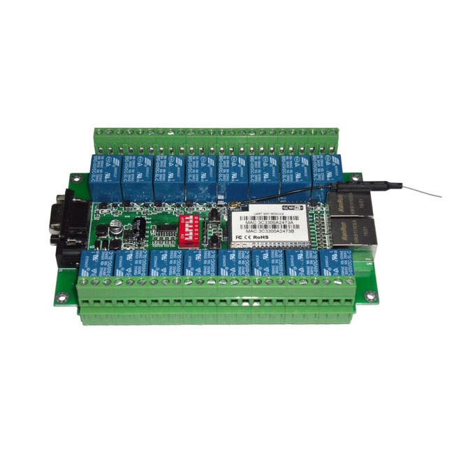 sc1216w wifi 16路继电器控制模块_风速传感器_风管温
