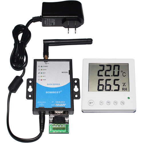 [SG5090B-5110] GPRS带显示大屏温湿度显示仪
