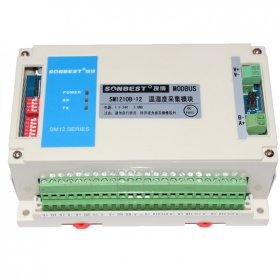 [SM1210B]多通道RS485温湿度SHT10传感器数据采集模块